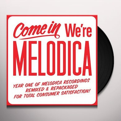 COME IN WE'RE MELODICA SAMPLER / VARIOUS Vinyl Record - UK Release