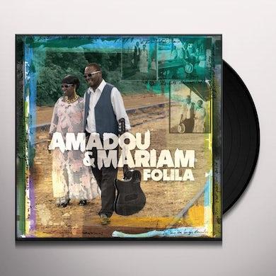 Amadou & Mariam FOLILA Vinyl Record