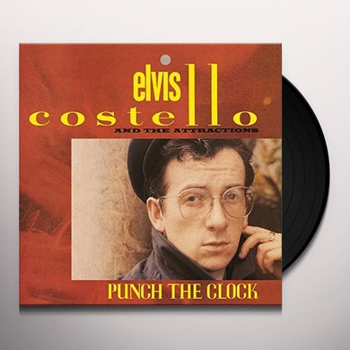 Elvis Costello PUNCH THE CLOCK Vinyl Record