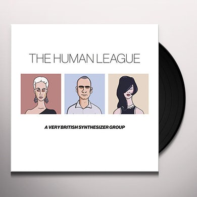 The Human League ANTHOLOGY: A VERY BRITISH SYNTHESIZER GROUP Vinyl Record