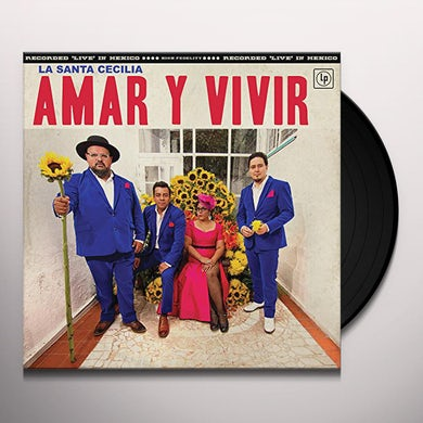 La Santa Cecilia Amar Y Vivir Vinyl Record