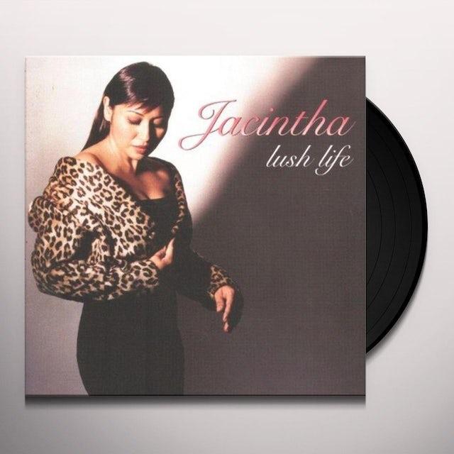 Jacintha LUSH LIFE Vinyl Record