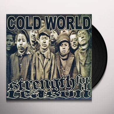 Cold World/Strength For A Reason SPLIT 7 Vinyl Record