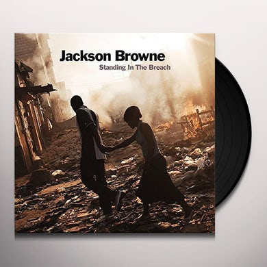 Jackson Browne STANDING IN THE BREACH Vinyl Record