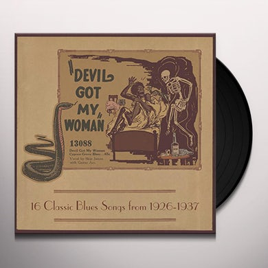 Devil Got My Woman - 16 Classic Blues Songs / Var Vinyl Record