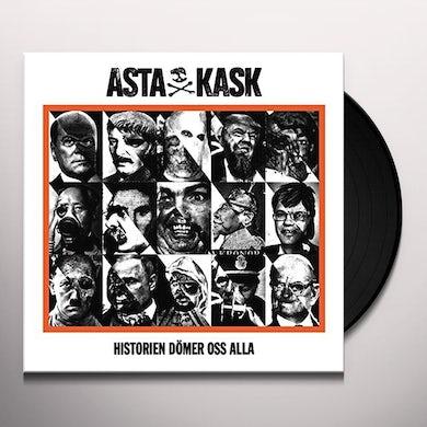 Asta Kask HISTORIEN DOMER OSS ALLA Vinyl Record