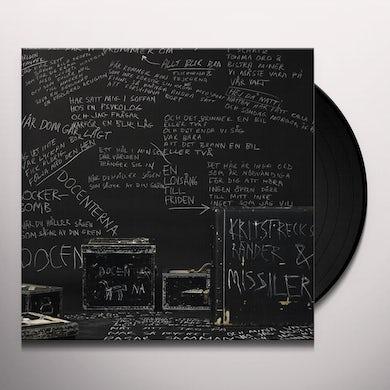 Docenterna KRITSTRECKSRANDER OCH MISSILER Vinyl Record