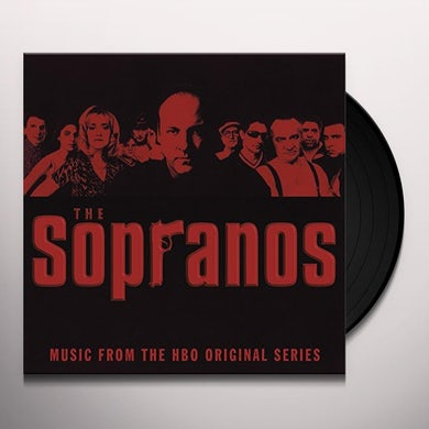 SOPRANOS: MUSIC FROM THE HBO ORIGINAL - Original Soundtrack Vinyl Record