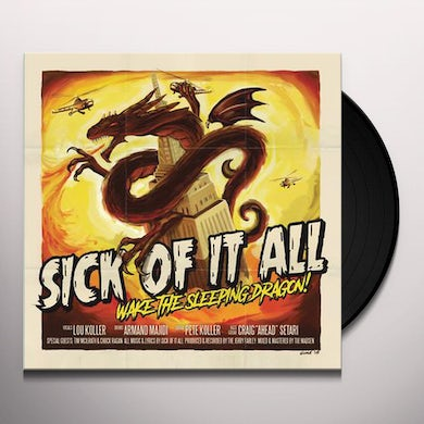 Sick Of It All WAKE THE SLEEPING DRAGON Vinyl Record