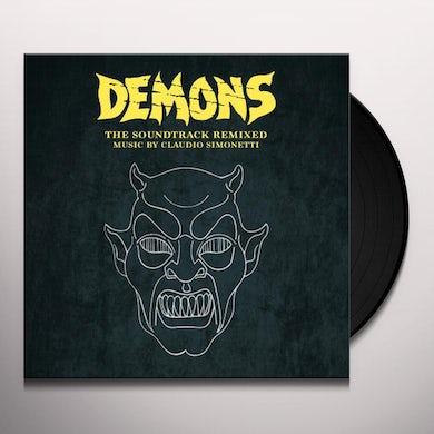 Claudio Simonetti DEMONS - THE SOUNDTRACK REMIXED Vinyl Record