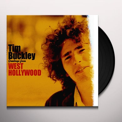 Tim Buckley GREETINGS FROM WEST HOLLYWOOD Vinyl Record