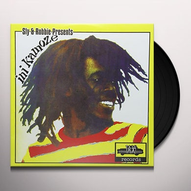 SLY & ROBBIE PRESENTS INI KAMOZE Vinyl Record