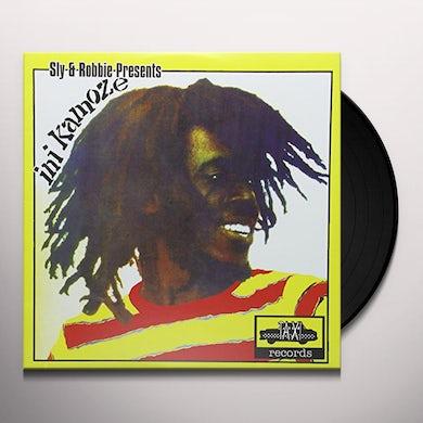 SLY & ROBBIE PRESENTS INI KAMOZE Vinyl Record