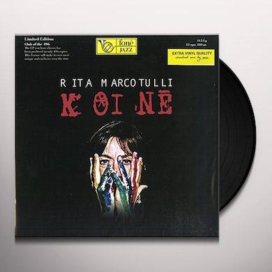 Rita Marcotulli KOINE Vinyl Record