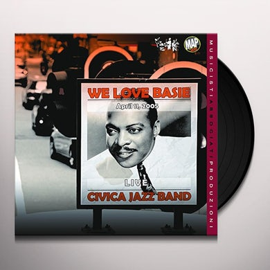 Civica Jazz Band WE LOVE BASIE Vinyl Record