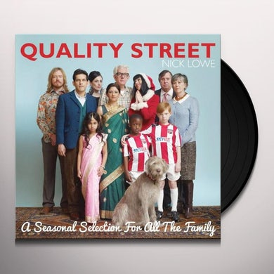 Nick Lowe QUALITY STREET-A SEASONAL SELECTION FOR ALL THE FA Vinyl Record