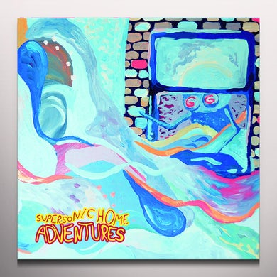 Adventures SUPERSONIC HOME Vinyl Record