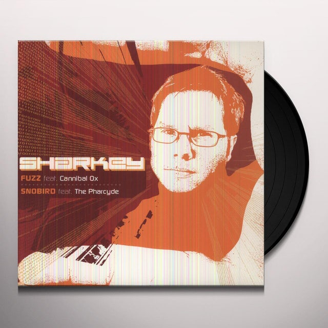 Sharkey Featuring Cannibal Ox FUZZ Vinyl Record
