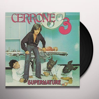 Cerrone SUPERNATURE Vinyl Record