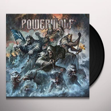 Powerwolf BEST OF THE BLESSED Vinyl Record