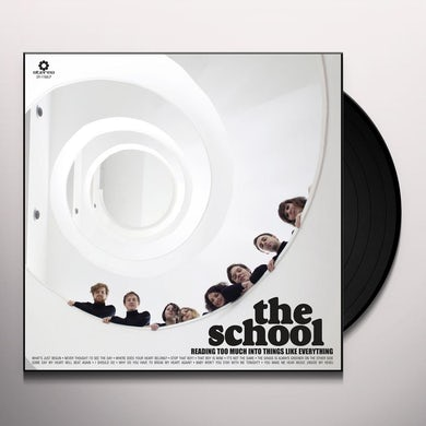 The School READING TOO MUCH INTO THINGS LIKE EVERYTHING Vinyl Record