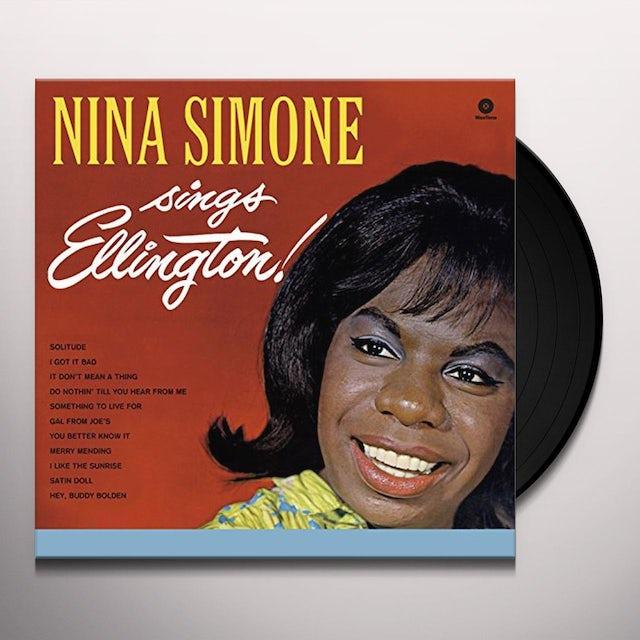 Nina Simone SINGS ELLINGTON Vinyl Record - 180 Gram Pressing