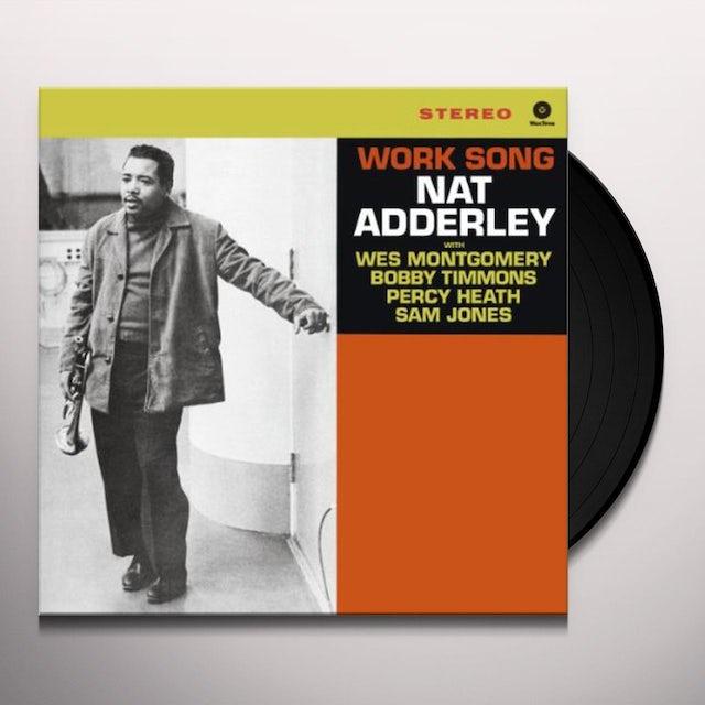 Nat Adderley WORK SONG Vinyl Record - Spain Release