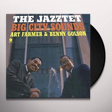 Art Farmer JAZZTET BIG CITY SOUNDS (BONUS TRACK) Vinyl Record - 180 Gram Pressing