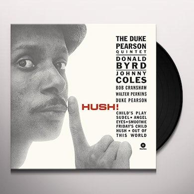 Duke Pearson HUSH Vinyl Record - Spain Release