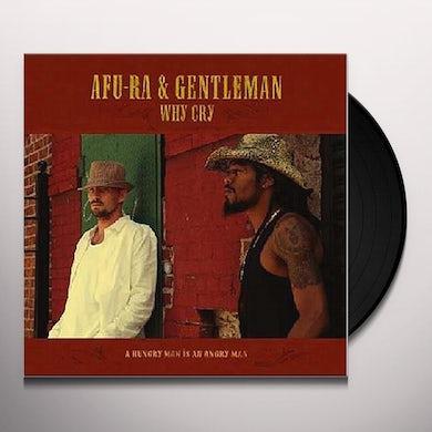 Afu-Ra WHY CRY Vinyl Record