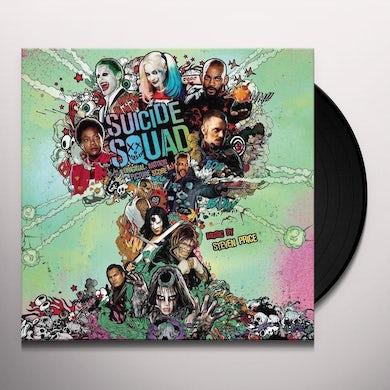 Steven Price SUICIDE SQUAD / Original Soundtrack Vinyl Record