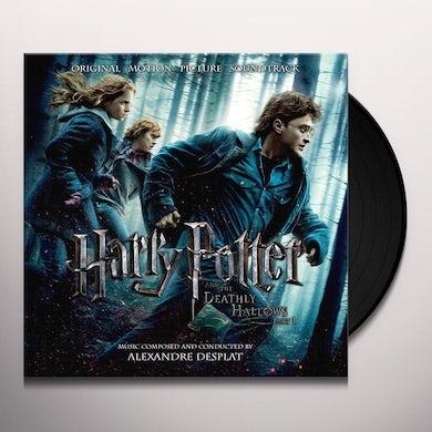 Alexandre Desplat HARRY POTTER & THE DEATHLY HALLOWS PART 1 Vinyl Record