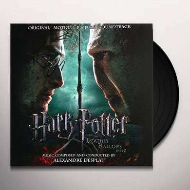HARRY POTTER & THE DEATHLY HALLOWS PART 2 Vinyl Record