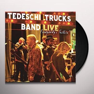 Tedeschi Trucks Band EVERYBODY'S TALKIN' Vinyl Record