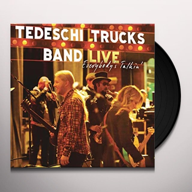 Tedeschi Trucks Band EVERYBODY'S TALKIN' Vinyl Record