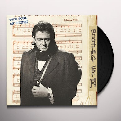 Johnny Cash BOOTLEG 4: THE SOUL OF TRUTH Vinyl Record