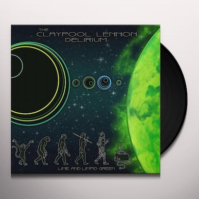 """The Claypool Lennon Delirium Lime And Limpid Green (10"""") Vinyl Record"""