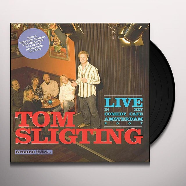 Tom Sligting LIVE IN HET COMEDY CAFE AMSTERDAM Vinyl Record