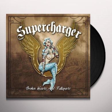 Supercharger BROKEN HEARTS & FALLAPARTS Vinyl Record - Holland Release