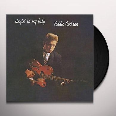 Eddie Cochran  SINGIN TO MY BABY Vinyl Record
