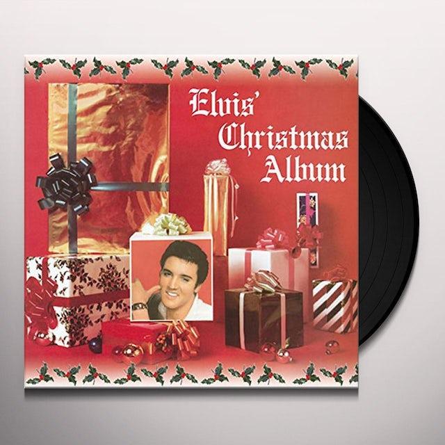 Elvis Presley CHRISTMAS ALBUM Vinyl Record