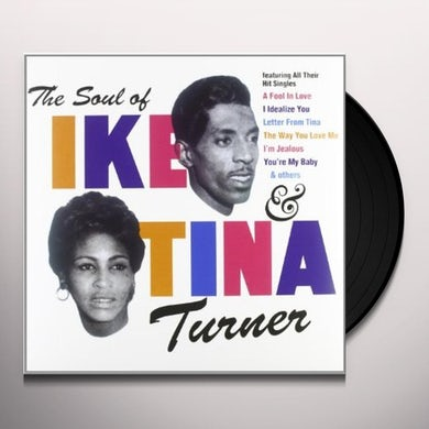 Ike & Tina Turner SOUL OF IKE & TINA (Vinyl)