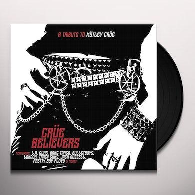 CRUE BELIEVERS - TRIBUTE TO MOTLEY CRUE / VARIOUS Vinyl Record