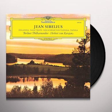 SIBELIUS / KARAJAN / BERLINER PHILHARMONIKER FINLANDIA / VALSE TRISTE / THE SWAN OF TUONELA Vinyl Record