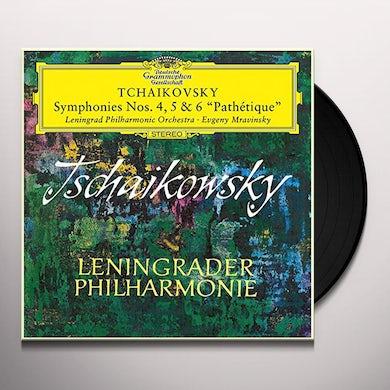 Tchaikovsky / Leningrad Philharmonic Orch / Mravin SYMPHONY NO 4 IN F MINOR OP 36 TH 27 Vinyl Record