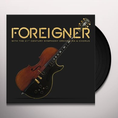 Foreigner With The 21st Century Symphony Orchestra & Chorus Vinyl Record