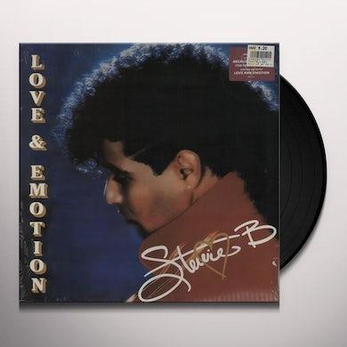 Stevie B. LOVE AND EMOTION Vinyl Record