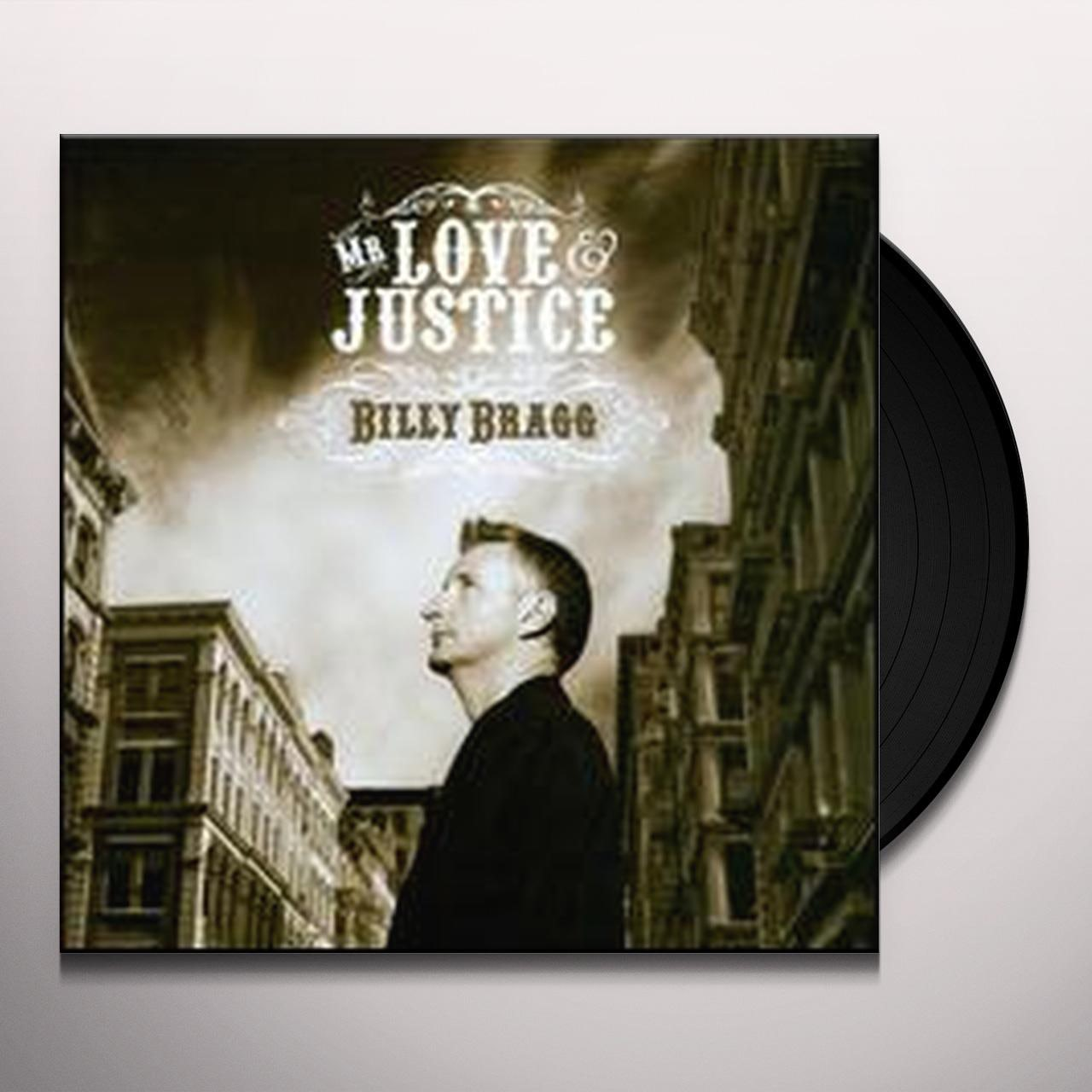 Billy Bragg Mr Love Amp Justice Vinyl Record