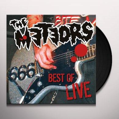 The Meteors Best Of Live Vinyl Record