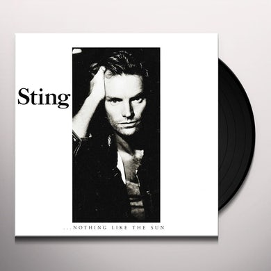 Sting NOTHING LIKE THE SUN Vinyl Record